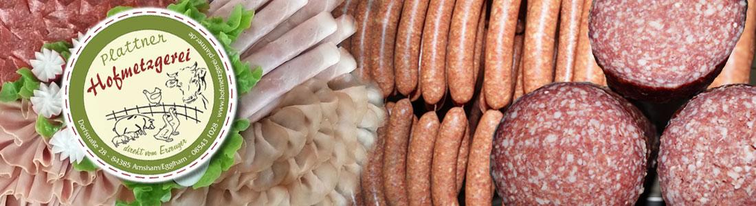Fleisch und Wurstprodukte aus eigener Herstellung